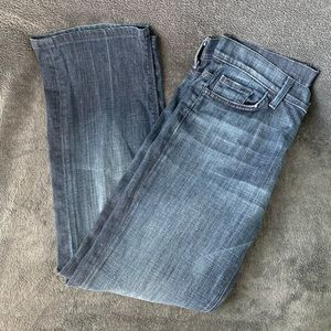 7 for All Mankind High Waist Bootcut Jeans 29